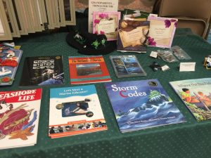 Children's educational books in the Pine Island Museum